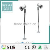 LED spotlightLED aluminum 1W silver standing jewelry led showcase lighting LED Cabinet Light