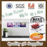 New Material PET 1.5mm No Frame Picture sex nudes girl 3d pictures for home wall decoration candles,Collection scenery canvas pa