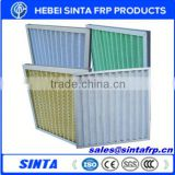 paper frame pleated air conditioning filter
