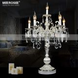Crystal Centerpiece With Zinc Alloy Classic Table Light for Wedding Decoration TL3148-L6                                                                         Quality Choice