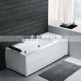 European Style Bathroom used cheap single whirlpool Simple Apartment Acrylic Massage Bathtub with fittings