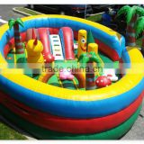 Inflatable playground for kids mini inflatable fun city inflatable trampolin                                                                         Quality Choice