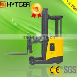 1500kg Single Scissor Electric Reach Forklift Truck                                                                         Quality Choice