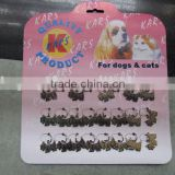 pet tag key chain