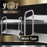 Hot Item New Design Food Trolley Kitchen Service Trolley Prices