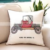 luxury embroidery handmade cushion square sofa car decortive out dooer pillow