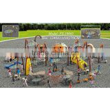 2014 popular commcercial children climbing rope with many abundant climbing devices