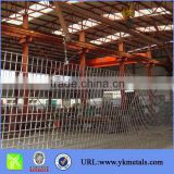 Steel bar welded grating/Rib steel bar mesh DIN488 GERMAN STANDARD (SIZE: 2150MMX5000MM)