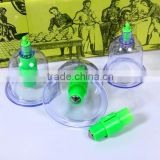 MK-C13 6 Cups High Quality Vacuum Cupping Apparatus Cupping Device Pull Out a Vacuum Apparatus