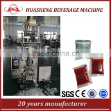 Back sealed Sachet packing machine for jam, paste, tomato sauce, ketchup, mayonnaise, butter