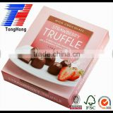 sweet chocolate strawberry paper pink boxes