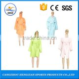 Wholesale best comfortable luxury fancy long shower robe,light weight thin bath robes,high quality microfiber bathrobes for mens