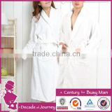 100 cotton terry cheap white hotel bathrobe                                                                         Quality Choice