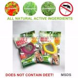 The highest quality deet free mosquito repellent bracelet                                                                         Quality Choice