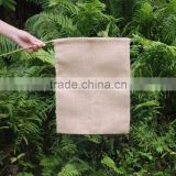"Burlap Garden Flag 12""Wx18""H DIY Liene Yard Decorative Flags Hanging Home Custom Print Decoration Banner Ads Flags"
