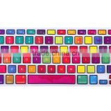 colorful laptop keyboard cover for mac air 13