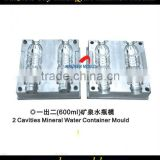 High quality plastic blowing mineral water container mould