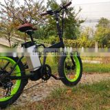 2016 Best Electric Bicycles Folding Electric Bike with Fat Tires