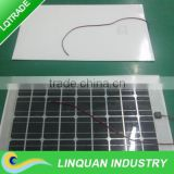 60W/18V semi-flexible Solar Panel for Electric vehicles