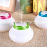Portable round 30ml per hour spray Micro humidifier,wholesale new promotional Mini himidifier,USB humidifier