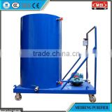 JL series Easy Operation Mini Oil Tank & Oil Filtration Trolleys potassium alum stone