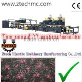ZTECH 5 layers PE air bubble film lamination high speed machine with semi-auto cutting rewinder