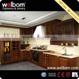 Traditional Chocolate Wood Kitchen Cabinets
