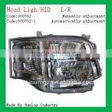 #000702 toyota hiace commuter spare parts, hiace headlights HID head light hiace commuter 2011 head lamp