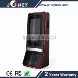 biometric face and fingerprint recognition time attendance and card machine