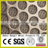 sintedred square wire mesh/Sintered metal punching net