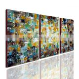 waterproof fabric abstract islamic art oil painting