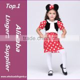 2015 Halloween christmas New girls Minni Mouse dress Party Christmas Costume Ballet Dress