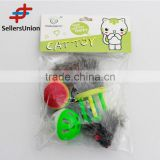 No.1 yiwu exporting commission agent wanted Wholesale Pet Toy For Cat with palstic ball pet toy