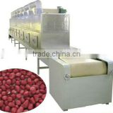 INQUIRY ABOUT High quality continuous conveyor type microwave peanut roaster machine
