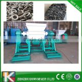 Used tyre cutting machine / Tire cutter shredder for scrap recycling / waste tyre crusher shredder grinder machine for sale