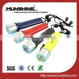 3w 180lm cree led waterproof diving plastic strong light torch