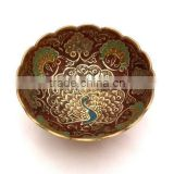 Enameled Arabian Katora,Colored Arabian Bowls,Arabian Bowl,Colored Dish,Saudi Arab item,Katora