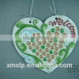 garden welcome board decoration