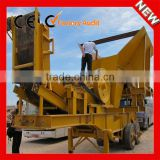 Low Price Small Jaw Crusher Hard Rock Mobile Crushing Plant for Sale from China Supplier