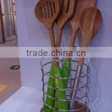 30*6.0cm Wholesale Wooden Spatula With PVC Box