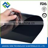 Food grade FDA certificated Teflon coated fiber glass fabric heat resistant 0.9mm black color