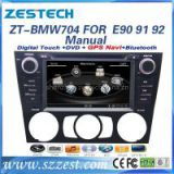 Zestech Manual A/C Touch Screen Car Dvd Player for BMW E90 E91 E92 E93 3 Series dvd gps with Radio Bluetooth TV Multimedia Navigation System autoparts
