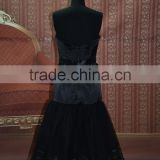 IN STOCK black Off-The-Shoulder sleeveless party dress short prom 16 dress evening dress SE03