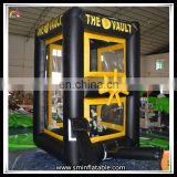 New High Quality Inflatable Cash Booth Cube Cash Grab Money Matchine On Sale