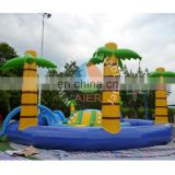 High Quality PVC Material Outdoor Sports Inflatable Water Pool