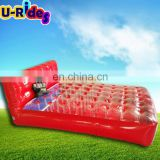 HOT Sale inflatable water towable lounge used for lake /Seaside