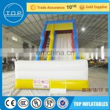Brand new juegos inflables tobogan inflatable water clearance outdoor slide with high quality