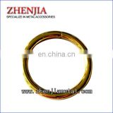 various size genuine gold plated iron O ring