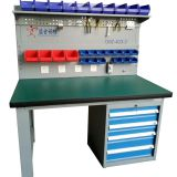 Heavy Duty steel Drawer workbench with panel garage tool cabinets