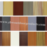 Customized Multi-select PS Plastic Imitation Wood for Decoration